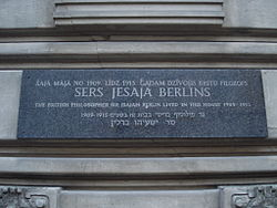 a biography and life work of isaiah berlin russo british jewish social and political theorist Russo-jewish roots, liberal commitments, and the ethos of and jewish bstrands^ of his life (berlin of isaiah berlin's political.