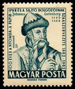 Resultado de imagem para Johann Gutenberg